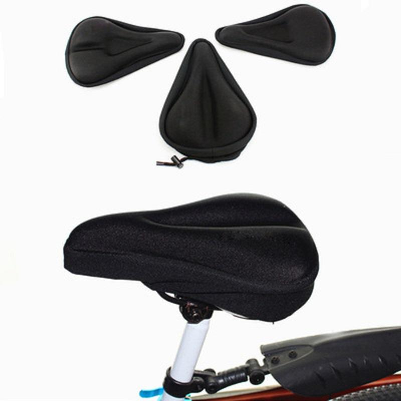 3d دراجة السرج مقعد لينة مقاعد الدراجة غطاء مريحة رغوة وسادة ركوب الدراجات