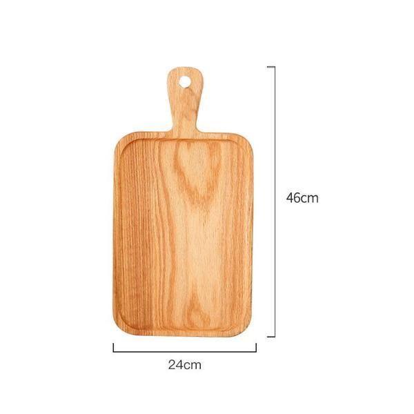 Kare Mutfak Doğrama Bloku Ahşap Ev Kesme Tahtası Kek Suşi Plaka Servis Tepsileri Ekmek Çanak Meyve Tabağı Suşi Tepsi Biftek Tepsisi EEB5655