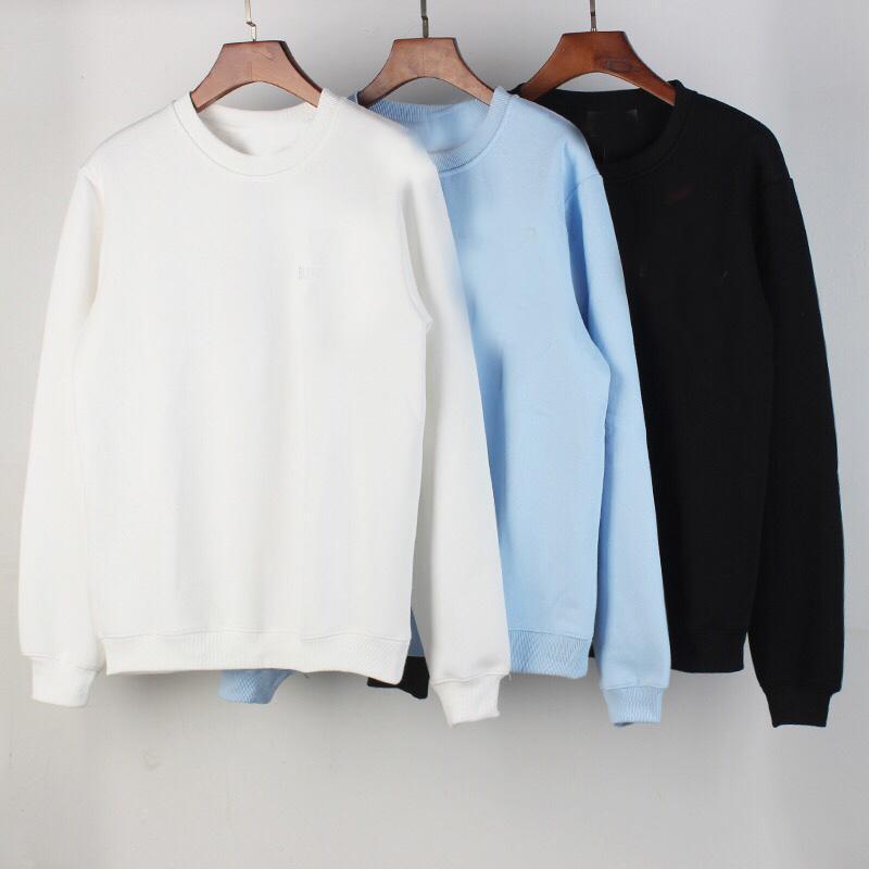 Маленькие буквы Мужские толстовки Пуловер с капюшоном Пальто мужской улицы Носить толстовки сплошной цвет плюс размер женщин мужчина хлопок мода толстовки