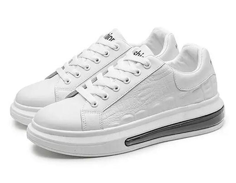 2021 رجل الاحذية الأزياء الصيف الأبيض الأسود المدربين الرياضة أحذية رياضية الأحذية ثلاثة الحجم 39-44