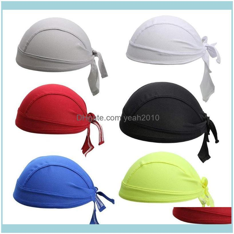 Safety Athletic As & Outdoorsriding Outdoor Sports Cap Turban Headband For Men Solid Color Headscarf Autumn Breathable Sunscreen Pirate Hat