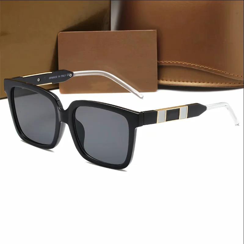 Nuevo diseño para hombres Lujo 0599 Gafas de sol Moda Clásico UV400 Alta Calidad Verano Al Aire Libre Playa Ocio