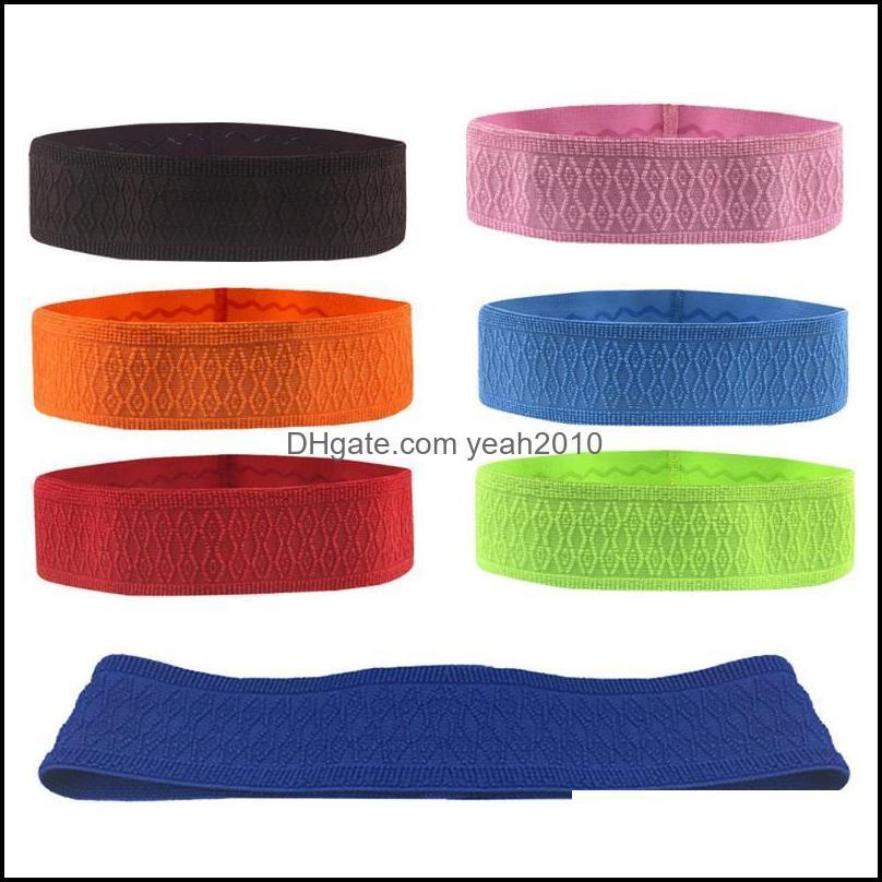 Segurança Atlético ao ar livre como Outdoors1pc Colorido Elastic Absorbente Suor Bandas Yoga Running Fitness Headband Esportes Basquetebol Gym STRE