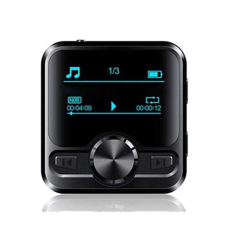 Jogador Speakers M9 HiFi Sports Bluetooth Fone de ouvido Voz Recorder Música 1.2 polegadas Display-32g MP3 MP4 jogadores