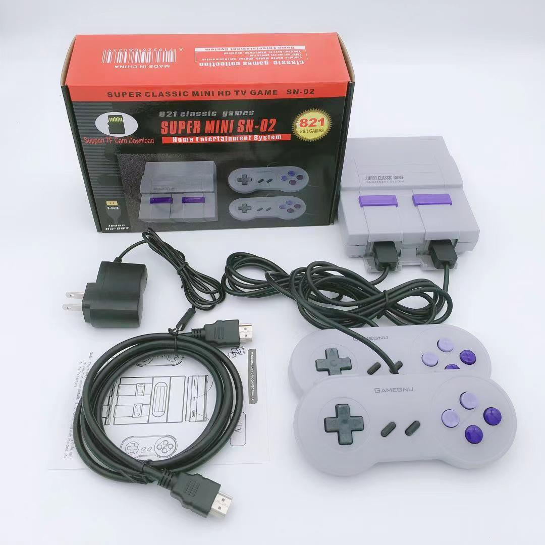 The 821 games are built into HD video console, and kids holiday gift classic consoles is home entertainment