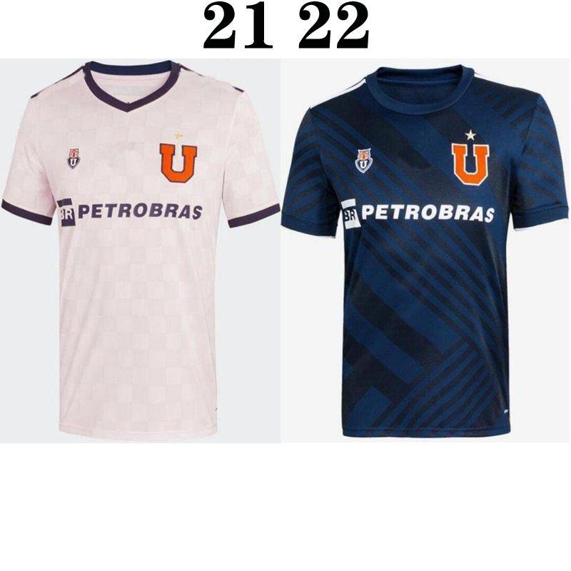 2021 2021 2022 Club Universidad De Chile Home Away Soccer Jersey ...