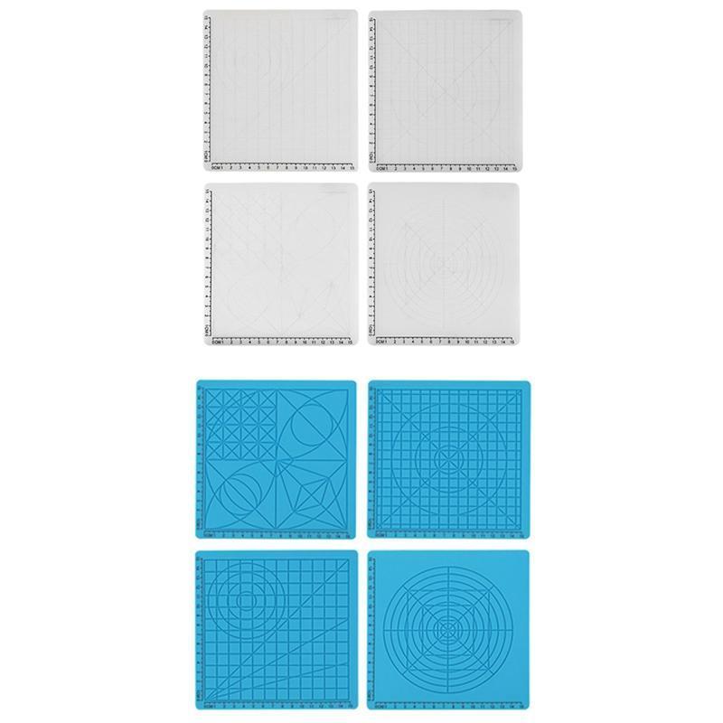 Tapete de silicone 3D Acessório Acessório Crianças Modelo de Placa de Desenho Crianças Ferramentas Educativas Conjuntos de Presentes