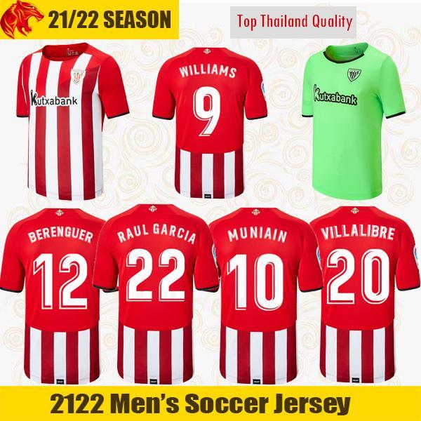 20 21 Athletic Bilbao Futbol Formaları RAUL GARCIA 2020 2021 WILLIAMS BERENGUER Futbol Forması VILLALIBRE Athletic Club MUNIAIN Forması