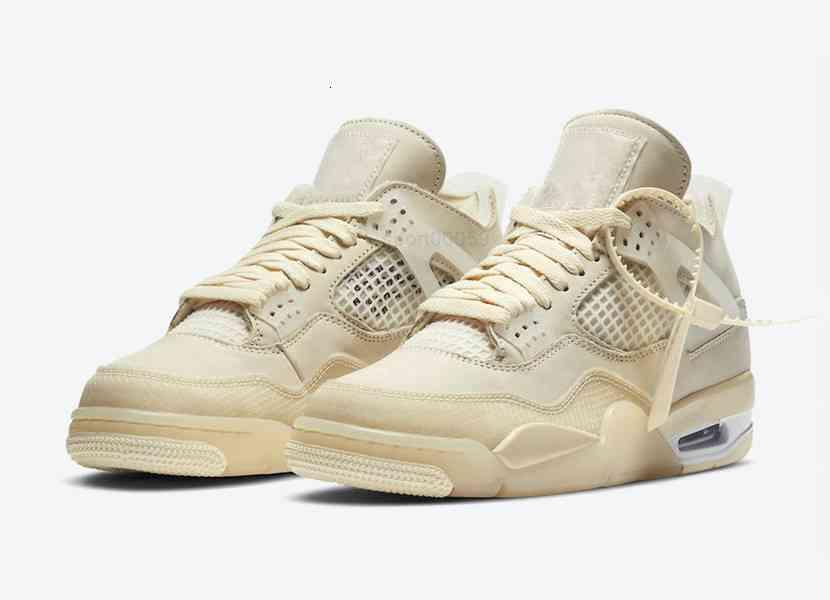 AJ الرجال النساء أحذية عالية كوليتي الشراع أبيض أسود 4 أحذية رياضية مع مربع حجم US4-US13