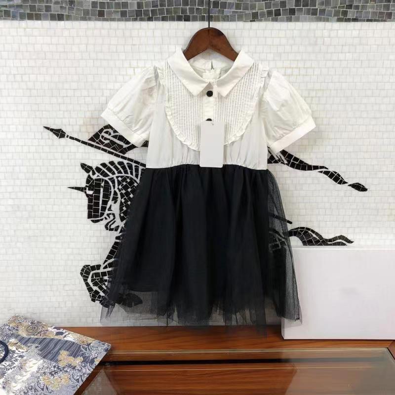 Little Fragrance Vestido de niñas Vestido de fragancia de verano Princesa para niños Bebé Extranjero Chica diseñador Ropa para niños Vestidos de niña