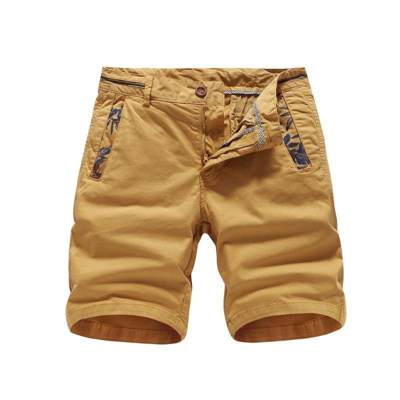 Herren Shorts Sommer Männer Cargo Slim Fit Casual Military Herren Jogger Strand Kurzer Festkörper Camo Pilot Pants Reißverschluss Kleidung