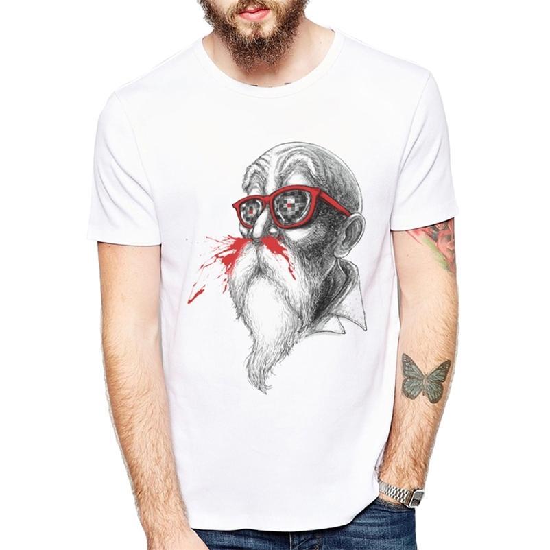 Homens de verão Anime Z Camisetas Mais Nova Moda Grandmaster Hobbies Design T-shirt é engraçado manga curta tops Cool masculino Tee 210322