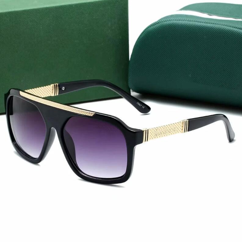 Hombres europeos y americanos diseñan lujo 2502 gafas de sol para elegante clásico UV400 de alta calidad al aire libre al aire libre de la playa Ocio