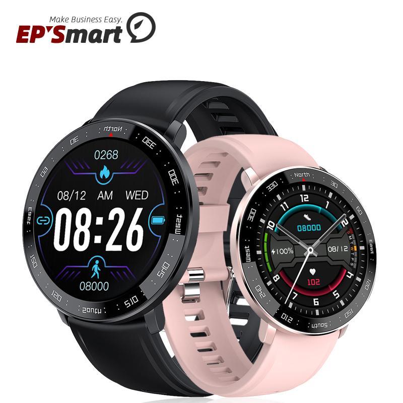 ZL03 Smart Watch 1.3 Inch Full Round Touch Screen Fashion Men Women Fitness Tracker IP67 Waterproof Bracelet