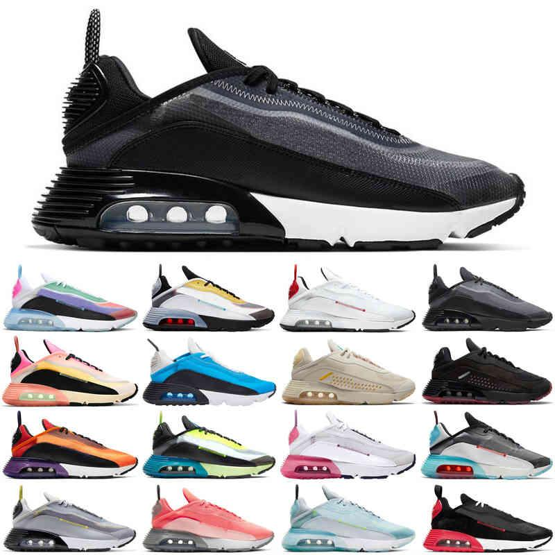 Remise 2090 Hommes Femmes Running Shoes Soyez vrai Pure Platinum Black Blanc Hommes Femmes Femmes Sneakers Sports Sneakers Sports