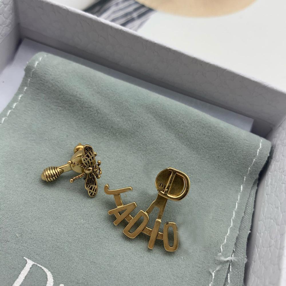 Letra de pendientes de encanto para mujeres de fiesta amantes de la boda Regalo de regalo compromiso con caja