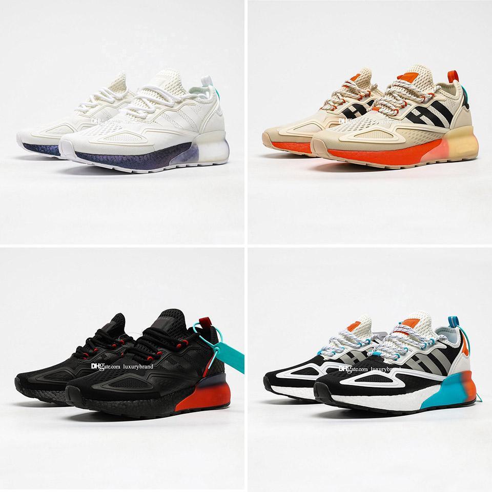 ZX 2K يعزز حذاء رياضة الاحذية رجالية أحذية رياضية أحذية نسائية المرأة الرياضة chaussures الركض الرجل المدربين امرأة مدرب