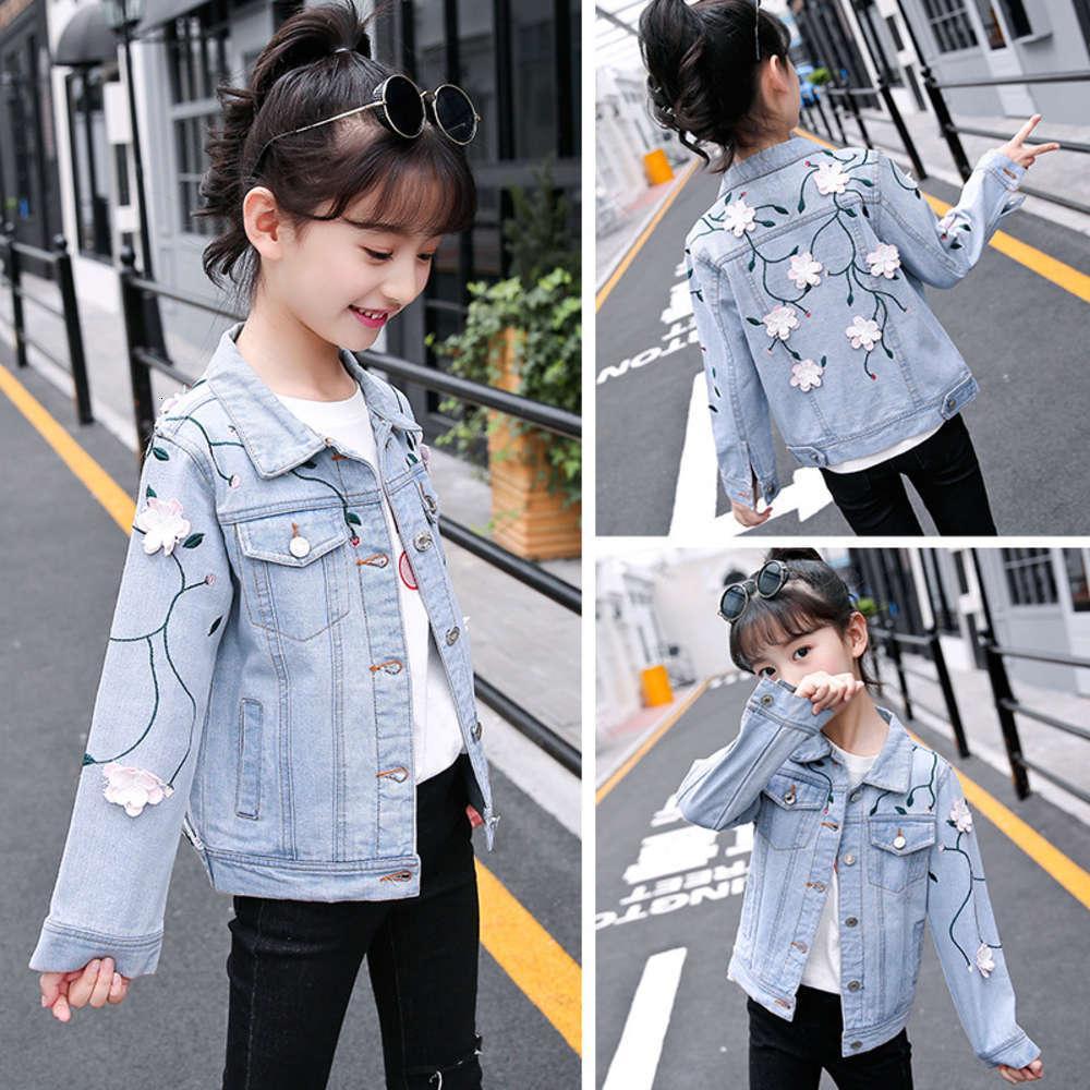 Vêtements pour enfants Spring des filles Drs 2021 Manteau Cardien coréen pour enfants Top Sle Courtiers étrangers et tendance de la mode