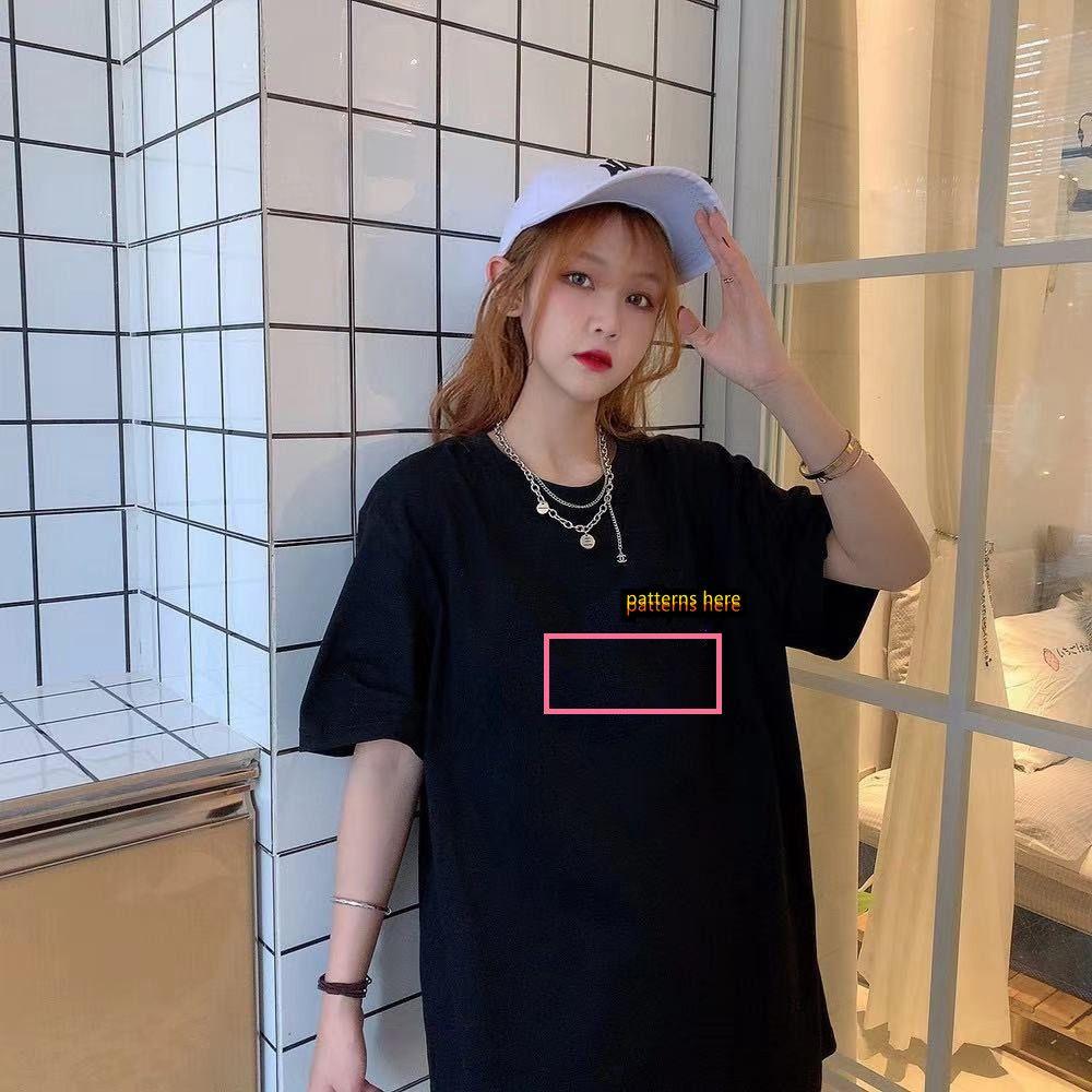 Hombre Mujeres camisetas verano camiseta 2021 manga corta de lujo Top diseñador de la marca Carta de moda de moda Hip Hop Lady Casual Ropa 183