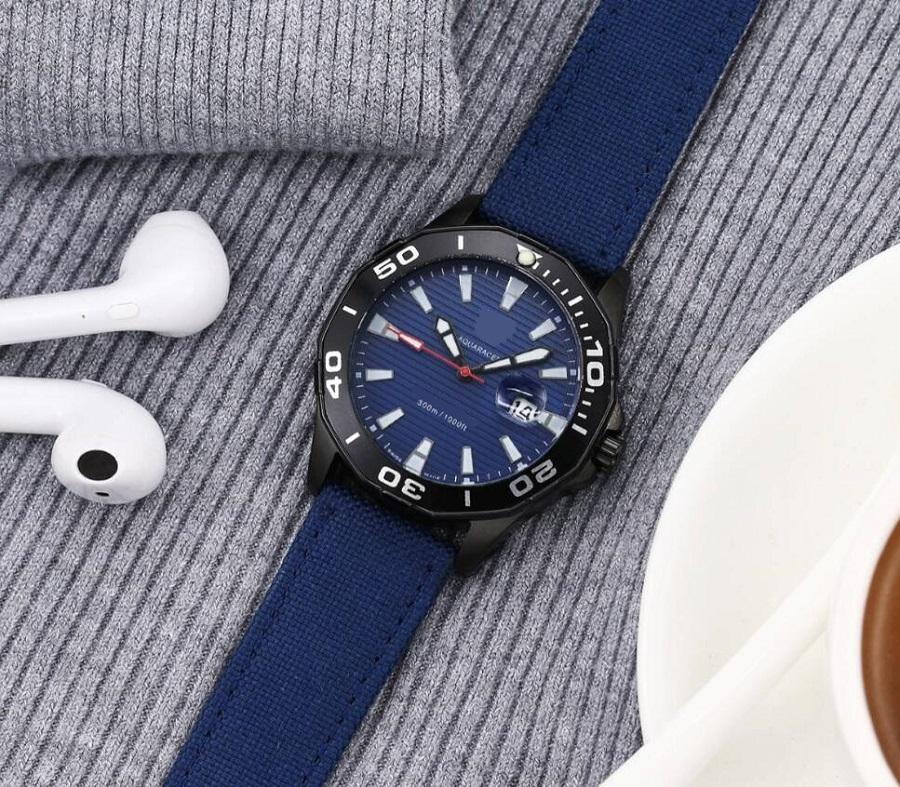 Orologio da cronografo del movimento del quarzo dell'orologio del cronografo del top orologio