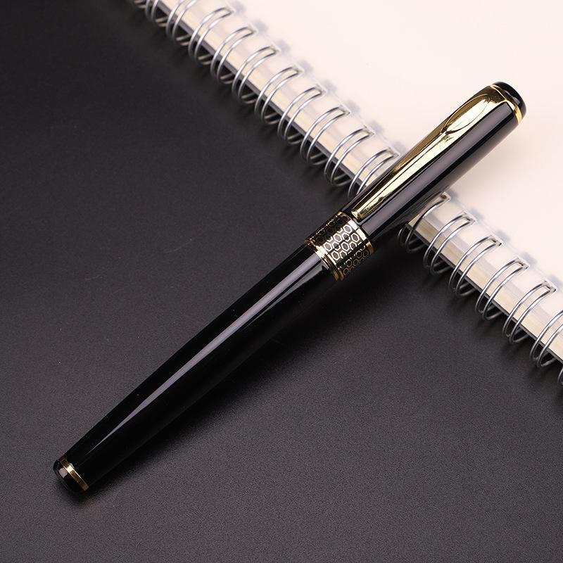 Ballpoint Pens 12 Шт. Высококачественная подпись ОрБ Ручка обучения Классический роскошный полный металл 0.5 мм школьные кабинеты