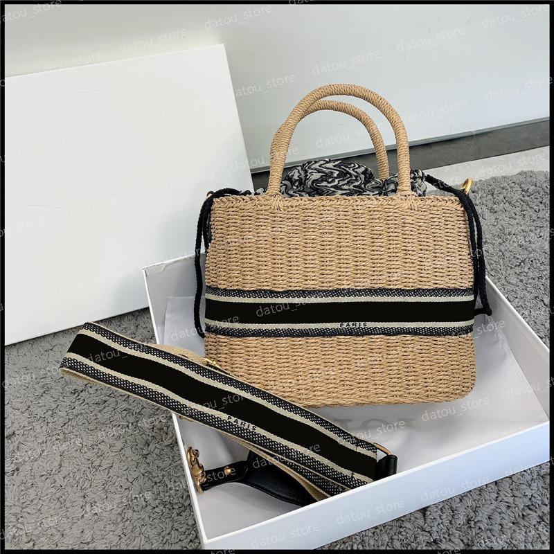 Tote Frauen Luxurys Designer Taschen 2021 Modekorb Womens Handtaschen Geldbörsen Crossbody Umhängetasche Sommer Urlaub Taschen Taschen