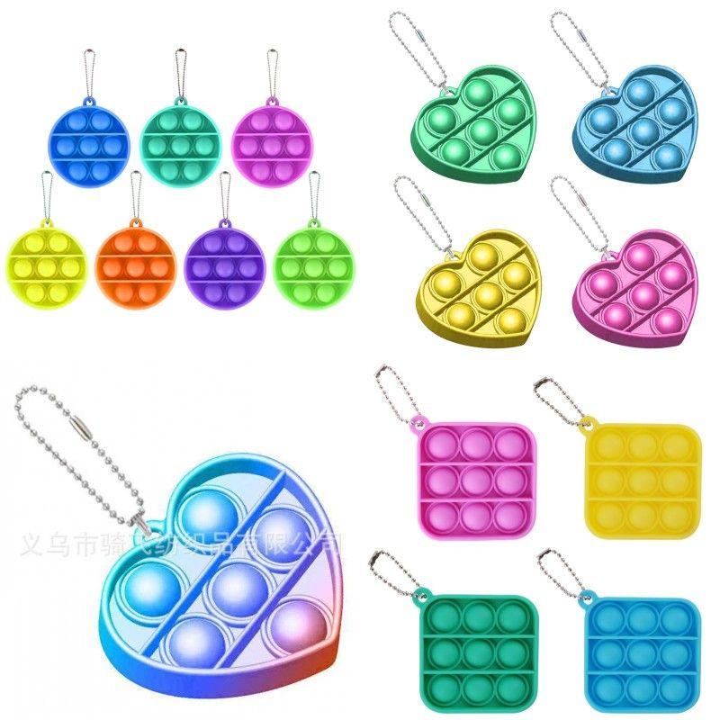 Push pops пузырь сенсорная игрушка для аутизма squishy right rectiver игрушки для взрослых ребенк смешной антистрессовый pops fidget рециркуляционный стресс 695 q2