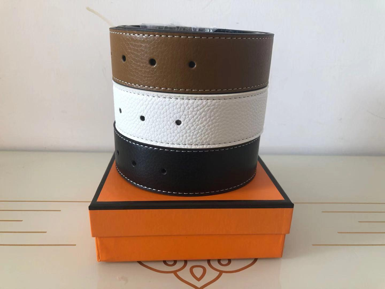 Cintura di stilista per uomo con donne con fibbia grande Top di alta qualità cinture di lusso classico h marca senza scatola e borsa