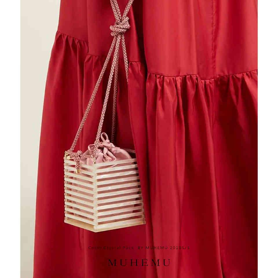 Luxury brand handbags high quality Shoulder Crossbody bags bucket bag fashion acrylic handle shoulder bag summer bolsa feminina C0326