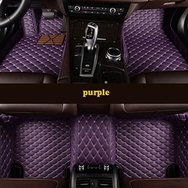 Tapis de plancher de voiture à 5 places personnalisés pour Mazda 3 BL BK 2 6 MODÈLES ACCESSOIRES AUTO