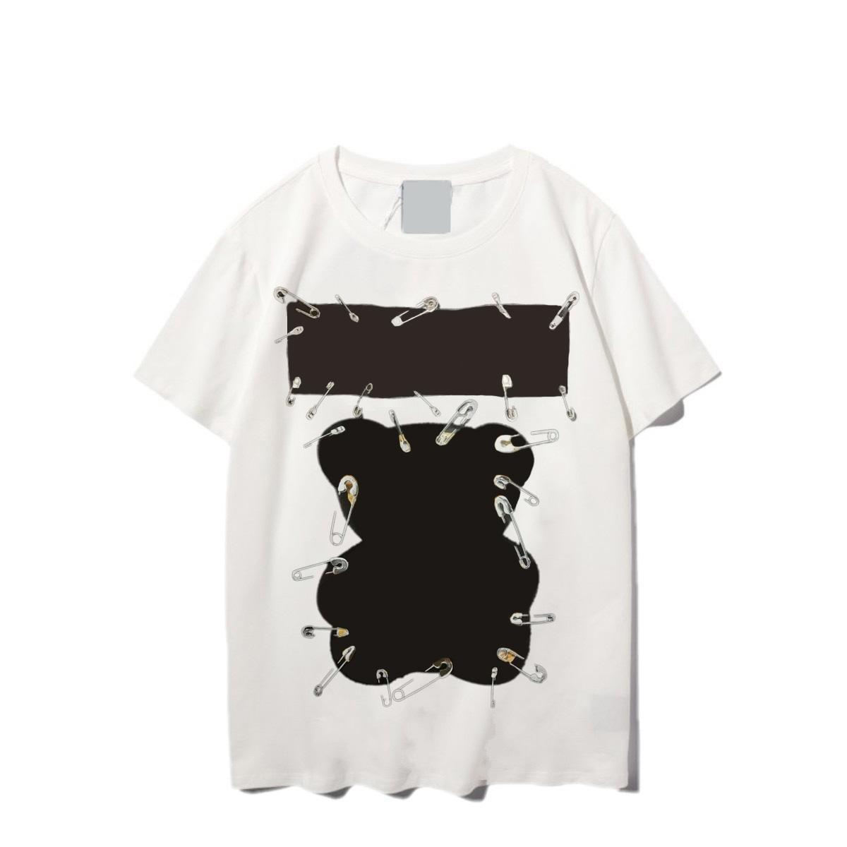 Uniex Women Animal Print T shirt Men Casual Tees Summer Ins Style Fashion Top Man Short Sleeve Trendy Hip hop Street Clothes Streetwear2021