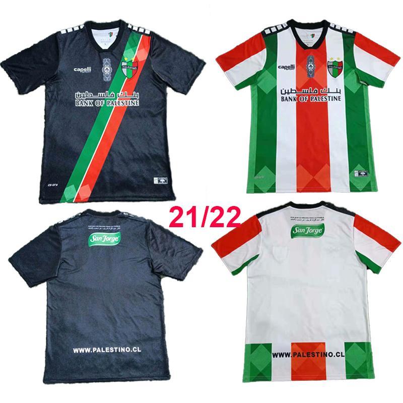 Top 2021 2022 Palestino Deportivo Futbol Forması Hayranları Eve Demley Şili Rosende Orres Cortes Campos Benegas Jimenez Cutierrez Futbol Gömlek Camiseta de