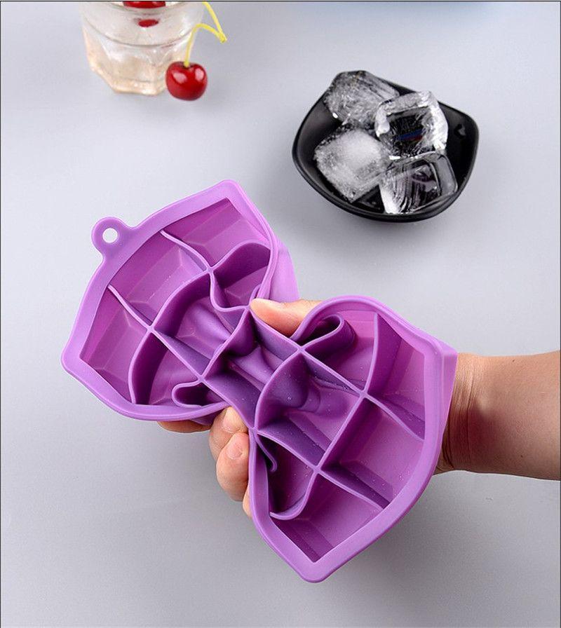 15 24 G Silicone Silicone Fabrication de la moule Cube Cube Tray Maker Bar Produits Freeze Moulage de glace Cocktail Whisky Whisky Buvez des outils à pâtisserie HHF10407