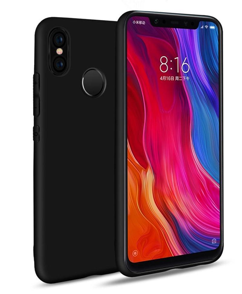 10pcs Candy Color Matte Silicone Slim Case Soft TPU Gel Silicone Cover For Xiaomi Mi Note 10 Lite 9 SE 9T Pro CC9 CC9E POCO X2