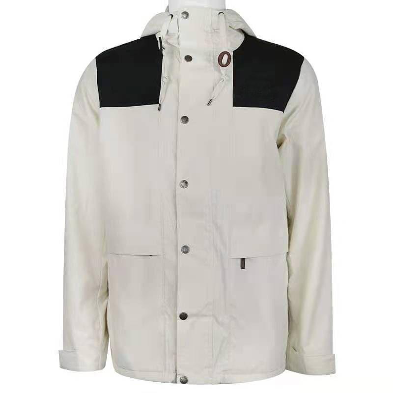 giacca da uomo hip hop winderbreaker moda uomo nord da donna streetwear tuta sportiva cappotto giacche faccia di alta qualità