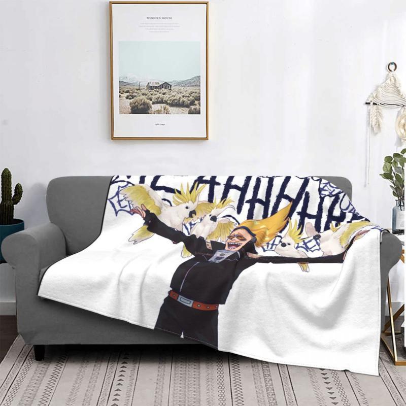 Couvertures Yamada Hizashi Couverture Flanelle Spring / Automne My Hero Academia Anime Portable Jet de Lightweight pour Bed Office Couvre-lit