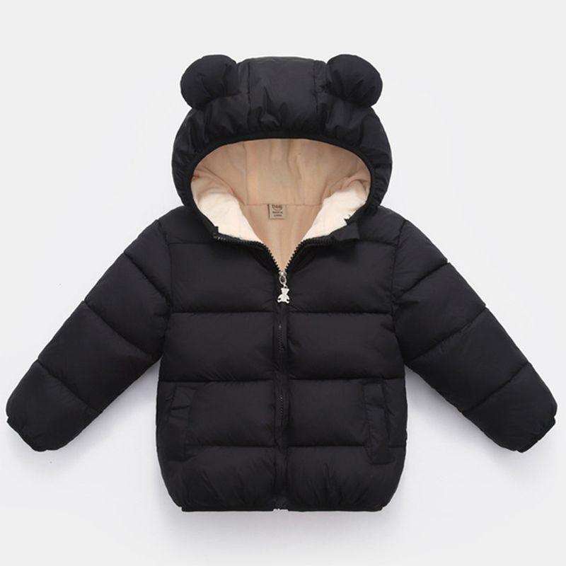 أطفال أطفال جاكيتات الفهد الشتاء الفتيان مقنع جاكيتات دافئة سميكة معاطف للفتيات الصوفية قميص 1-6 سنوات ملابس الشتاء