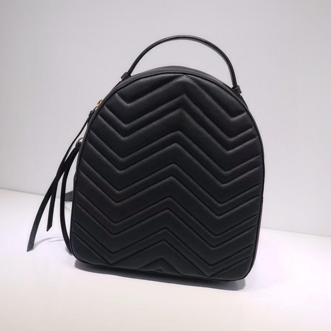 Toptan Hakiki Deri Sırt Çantası Moda Geri Paketi Büyük Sırt Çantası Kadın Erkekler Için Omuz Çantası Çanta Mini Sırt Çantaları Lady Messenger Çanta