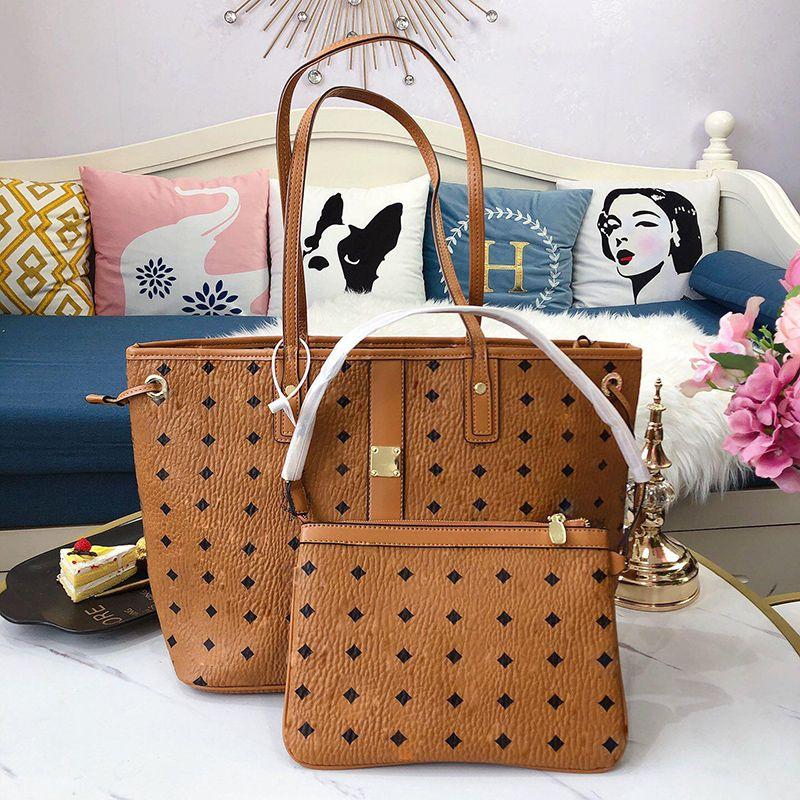 Classic Fashion Brand Lussurys Designer Designer Donne Borse 2021 Portafoglio in pelle morbida La grande capacità Pacchetto Bush Tote Bags Trucco con logo originale