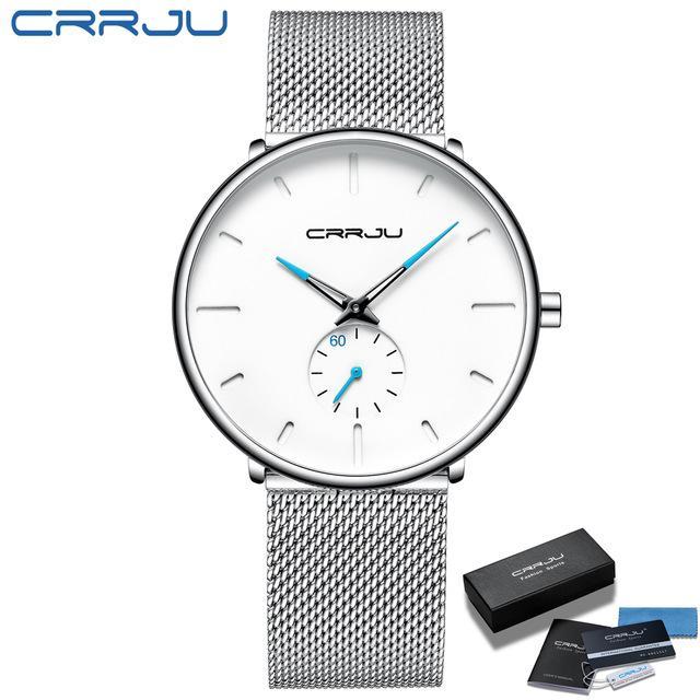 Лучшие брендовые моды мужские кварцевые часы роскошные часы мужчины повседневная стройная сетка сталь водонепроницаемый спортивный наручные часы Relogio Masculino Orologio di lusso