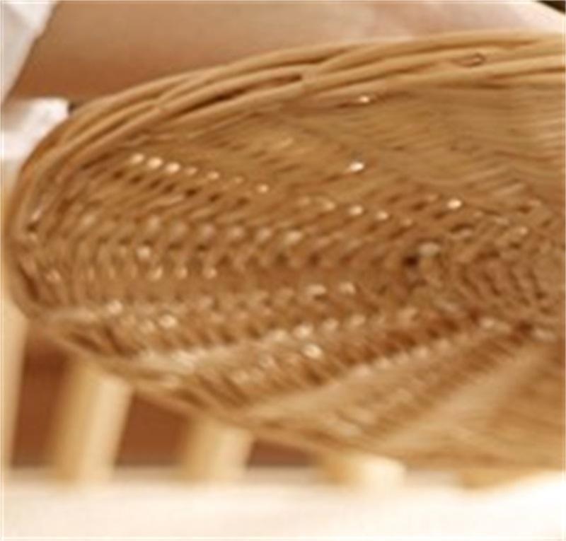 Ropa de almacenamiento de marco de cesta sucia de mimbre Ropa de tejer Hot Pot Shop OK YASD 340 S2