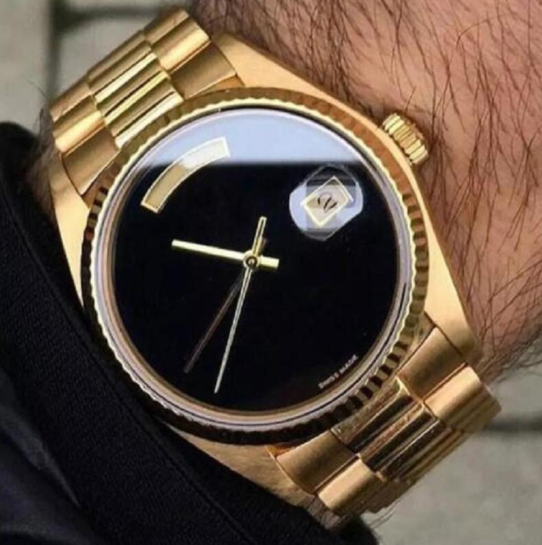 Высококачественные оптовые часы 41 мм мужские часы из нержавеющей стали ремешок автоматический механический классический подарок на наручные часы дата водонепроницаемой функции