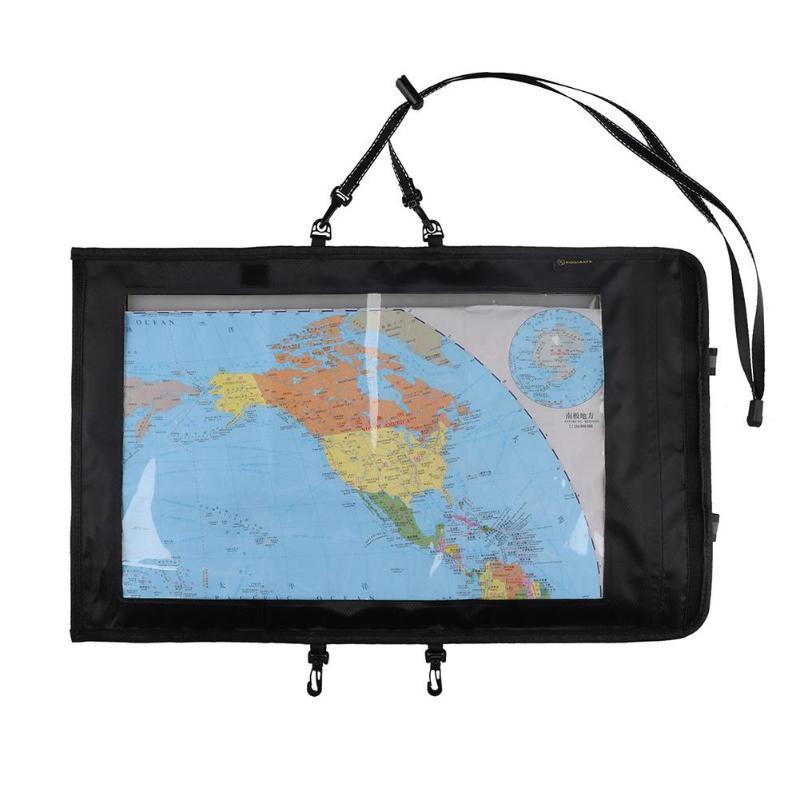 Outdoor Sports Waterproof Foldable Transparent Window Map Storage Bag Pouch Bags