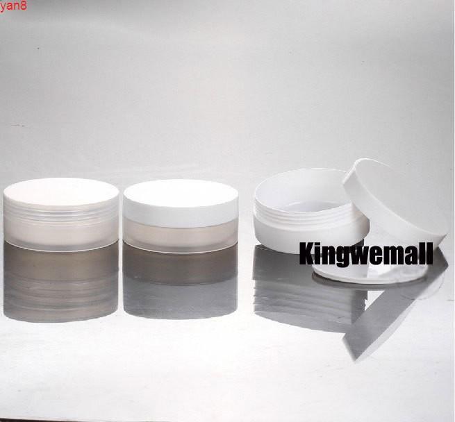 Atacado 300 pçs / lote Capacidade 30g 30ml Vazio PP Plástico Creme Jar For Cosmetic PackagingGood Quadty