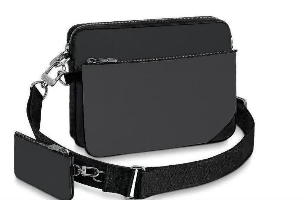 2021 النساء والرجال رسول حقيبة pochette الثلاثي حقيبة crossbody أعلى جودة حقائب الكتف المحمولة شعار شعار