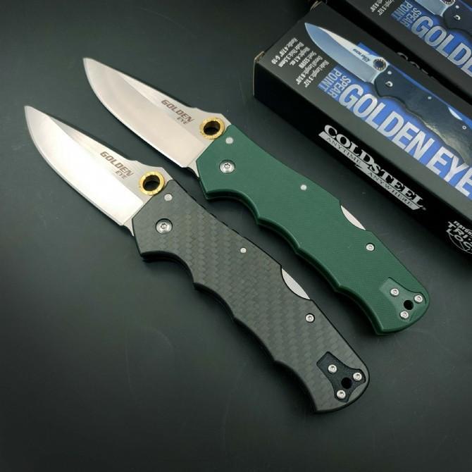 Nuovo arrivo Acciaio freddo 62qcfb Pieghevole coltello da esterno Autodifesa Sopravvivenza Caccia Caccia Camping Pocket Knives Rescue Utility EDC Strumenti