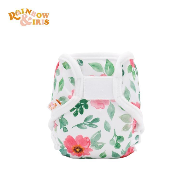 Rainboiris mode réutilisable lavable respirable née Baby Couche Couvercle Ajuster 2-6kg Couches en tissu