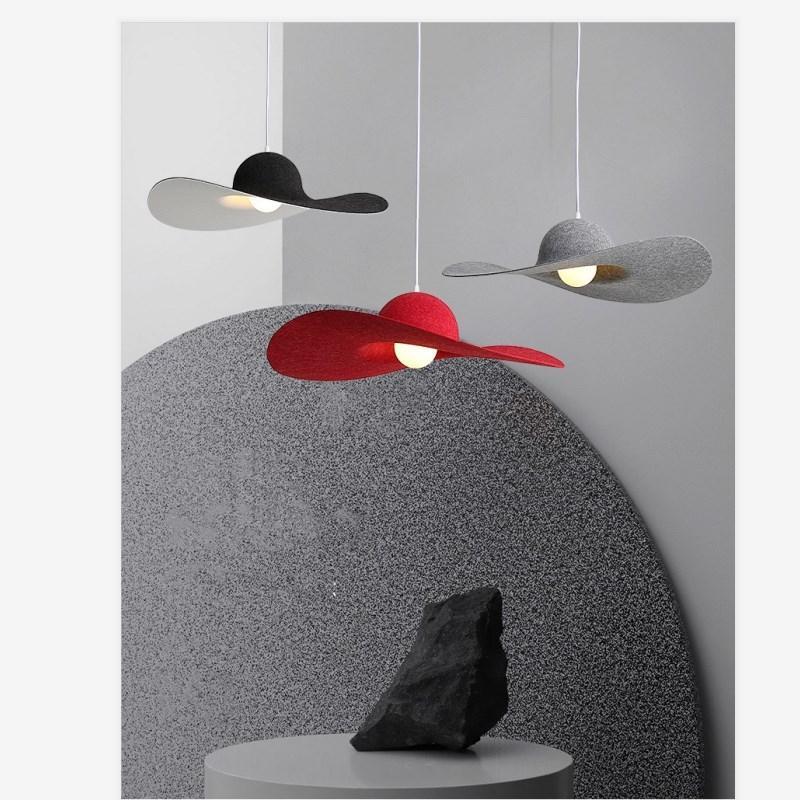 Pandant lamps Italian  with the same hat chandelier waterproof fireproof material restaurant bedroom decorative lighting