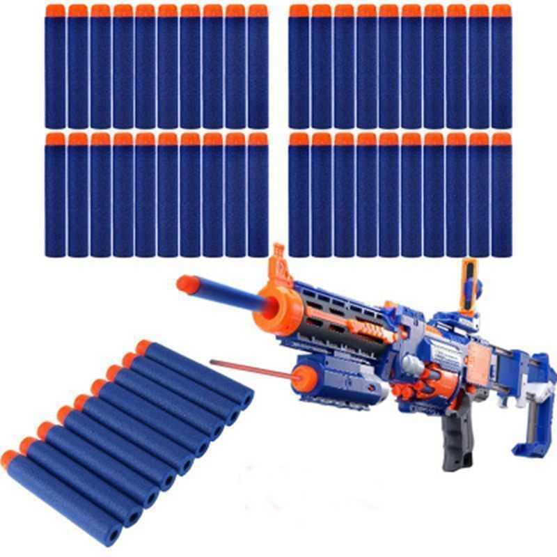 100 قطع الرصاص بالجملة لينة جوفاء هول رئيس 7.2cm عبوة السهام لعبة في الهواء الطلق cs بندقية كيد الأطفال هدية