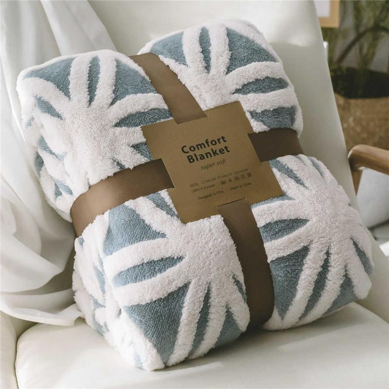 Sofá Cashmere Doble algodón espesado siesta jacquard lambo capa cubierta manta ifukts